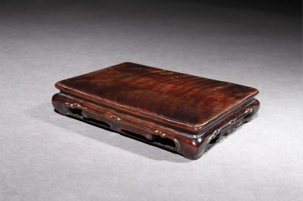 Chinese Wood Stand Longyan