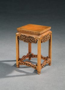 Boxwood miniature table
