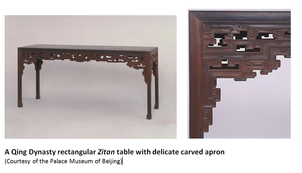 Chinese zitan table